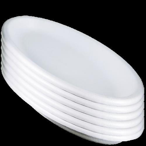 Art de la table - Plateau ovale petit modèle x 40 en housse