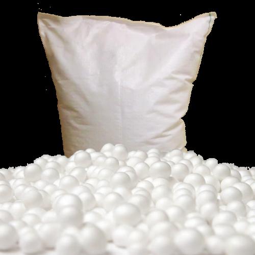 Billes 2mm en sacs toiles cousus de 100 litres