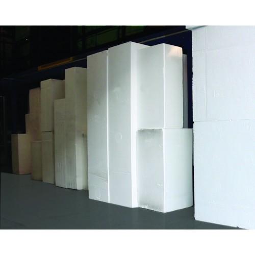 Code 208 - Bloc Polystyrène 250 x 120 x 60 cm - 25 Kgs/M3