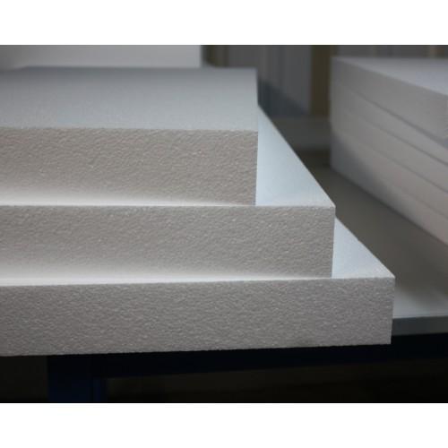 Code 403 - Plaque Ps expansé 120 x 80 x 6 Cm - Colis de 3