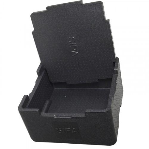 35 Litres Polypropylène Noir - Conditionnement par 28 (Réf. Sipabox)