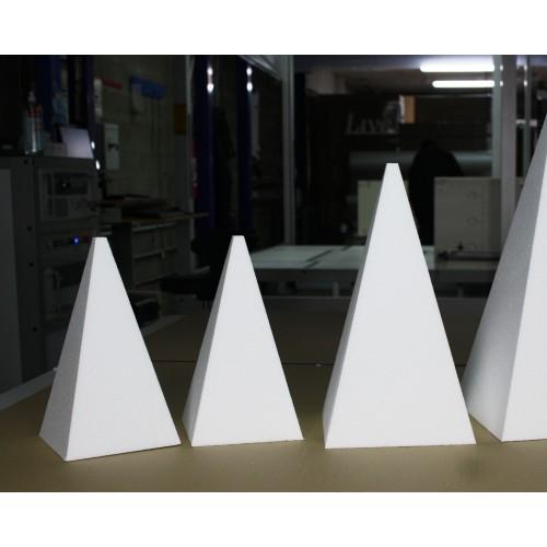 Pyramide base 300x300 hauteur 600 mm (Réf. py300)