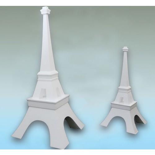 Tour Eiffel polystyrène Base 550x550 hauteur 1200 mm